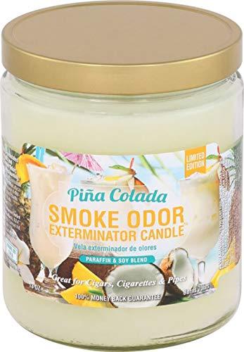 Smoke Odor Exterminator Pina Colada Candle, 13 oz, Pack of 2 ()