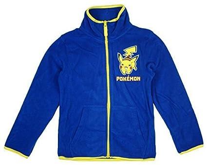 d02489997 Boys Official Pokemon Pikachu Polar Fleece Zipper Jacket Top sizes ...