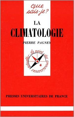 Télécharger en ligne La climatologie epub, pdf