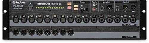 Presonus RML16AI Studio Live 32-channel, touch-software-controlled, rack-mount digital - Digital Presonus Mixer Channel 32