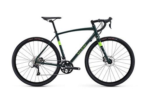Raleigh Bikes Willard 2 Gravel Adventure Road Bike, Green, 54cm/Medium