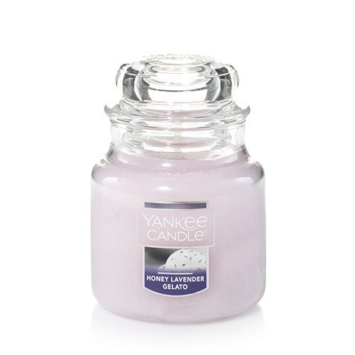 Yankee Candle Honey Lavender Gelato Small Jar Candle (Berry Small Candle)