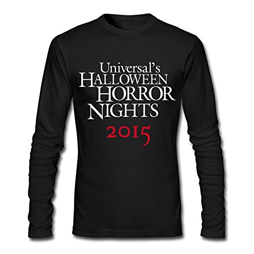 Men's Halloween Horror Nights T-shirt XL Black Geek -