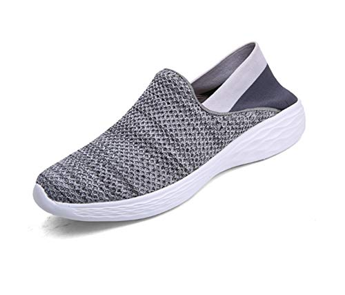 De Las Mujer Aire XINGMU Dama Zapatillas Caminando Transpirable Gris Iluminan Al Verano De Sneakers Libre Zapatillas Deporte Malla Mujeres OaqadR0