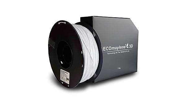 Algodón Candy Color blanco - ecomaylene3d ABS Filamento Impresora ...