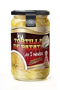 PREPARADO DE TORTILLA SIN CEBOLLA 580 ML: Amazon.es: Alimentación ...