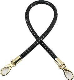 40cm/60cm Goldtone Buckles Synthetic Leather PU Shoulder Strap Replacement Handbag Purse Handle (Length:60cm/23.6\