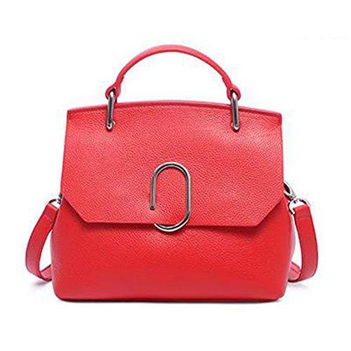 Bolsa Atmosphere de Concha Wild Diagonal rojo Hombro Rojo de Moda GSYDDJB Bolsa Bolso Único Mujer Mano f811nA