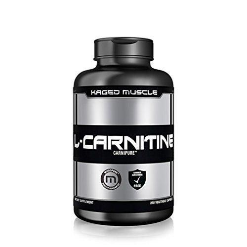 KM L-Carnitine 500 mg - Stimulant Free Fat Burner for Men & Women – Boosts Endurance – Torches Fat – Aids Recovery – Premium sourced L-Carnitine, 250 Veggie Capsules - 250 Gym