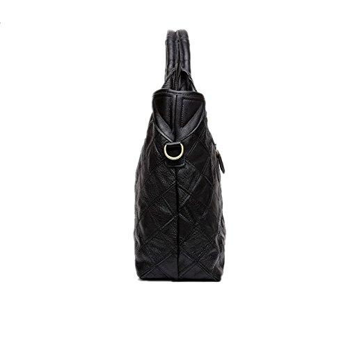 Hobo Femme couleur Pour à les Crossbody Classique noire bandoulière Épaule voyages Sac Tote Sacs cuir Jxth en d'affaires RPqYg