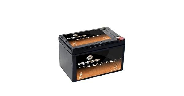 Amazon.com: SLA Batería de repuesto para batería AGM de 12 V ...