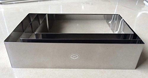 stainless steel baking ring - 9