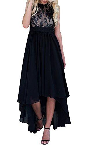high low hem maxi dress - 3