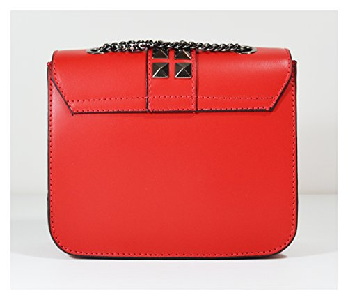 Vera Jewell Millennium Italia Rosso Donna Stella Borsa In Pelle Realizzati pqpvwXxg5