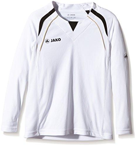 Jako Trikot Wembley LA - Camiseta de equipación deportiva para niño multicolor - Weiß/Schwarz/Gold