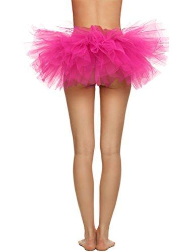 Courte couches Jupe Sexy Danse Tulle Femme Mini De Se Jupon Tutu Ballet Princesse Leva Jupe jupe Costume YouPue 5 Jupe IPwBR