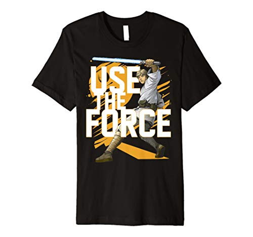Star Wars Use The Force Luke Skywalker Premium Tee