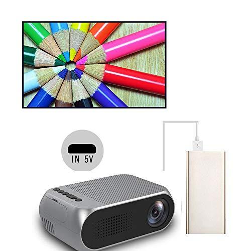 LMtt Home Projector, HD Video Projector, LED Projektor für Full HD 1920 * 1080p Home Theater Movie Video mit HDMI USB AV…