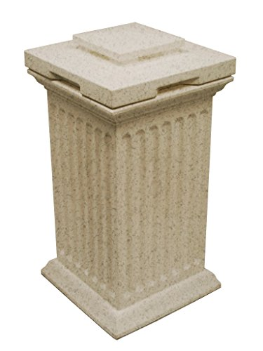 Good Ideas SV-COL-SAN Savannah Storage Column, Sandstone (Good Ideas Compost Bin)