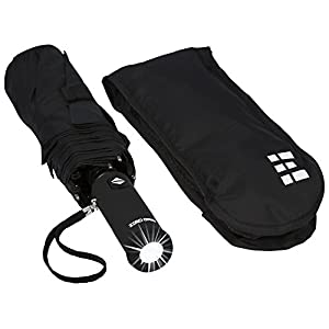 Zero Grid Travel Umbrella with Flashlight