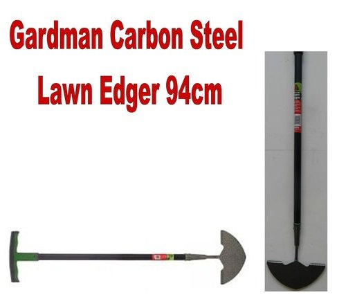 Gardman Lawn Edger Carbon Steel Half Moon T-Handle 94cm