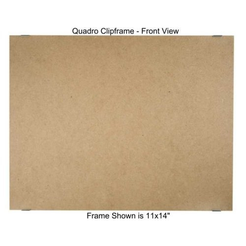 Quadro Clip Frame 11x14 inch Borderless Frame, Box of ()