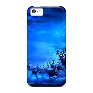 Unique Design Iphone 5c Durable Tpu Case Cover Ho Ho Ho