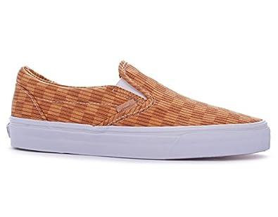 Vans Classic Slip-On CA , washed herringbone inca gold, 6,5