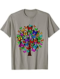 Butterfly Tree T-Shirt, Butterflies Shirt, Tree Shirt