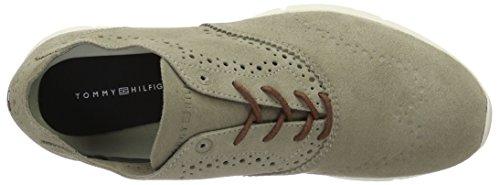 Tommy Hilfiger T2285obias 7b, Zapatillas para Hombre Gris (Aluminium)
