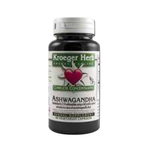 Kroeger Herb Complete Concentrate, Ashwagandha, 60 Count