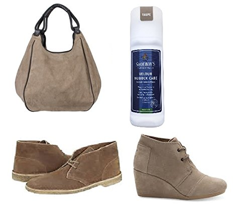 60d12e013d47 Amazon.com  Shoeboy s Taupe Suede Leather Dye. Waterproofs   Renews Color  For Designer Suede Shoes   Handbags.  Automotive