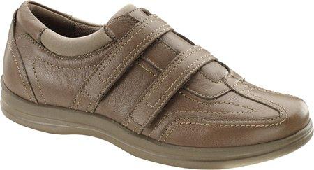 (Apex Women's Carla Dual Strap Shoe,Tan Full Grain Leather,US 8.5 M)