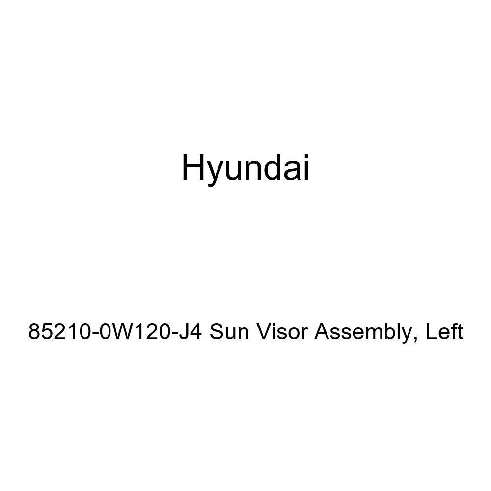 Left Genuine Hyundai 85210-0W120-J4 Sun Visor Assembly