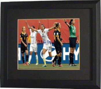 Christen Press Signed Autograph 8x10 Photo Custom Framed ...