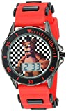 Five Nights at Freddy's Kids' FNF4019 Analog Display Analog Quartz Red Watch