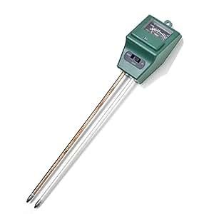 awakingdemi 3in1Digital probador de la humedad del suelo la luz solar medidor de pH planta analyzers