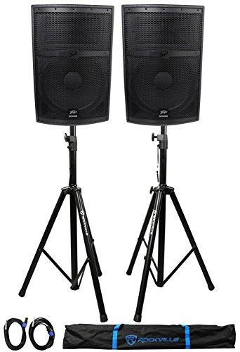 Widow Speaker Black (2) Peavey SP 2 SP2 4000w 15