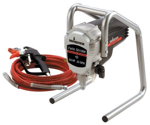 Wagner Power Products 9140S 1/2 HP Twin Stroke Piston Pump Paint Sprayer (Painter Power Piston Wagner)