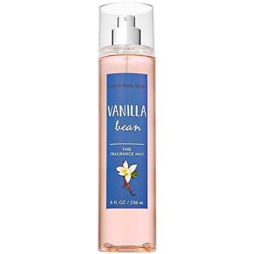 Bath and Body Works Vanilla Bean Fine Fragrance Mist 8 Fluid Ounce (2018 Edition)