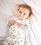 Burt's Bees Baby Unisex Pajamas, A-Bee-C/Stripes