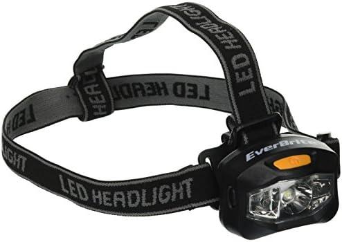 Everbrite E021007AE 3AAA 3W Plus 2 LED HeadLight