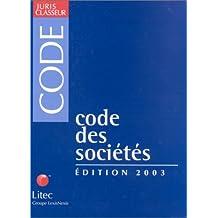 CODE DES SOCIETES 2003