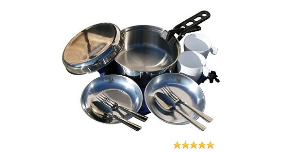 Cao Set de Cocina para Acampada