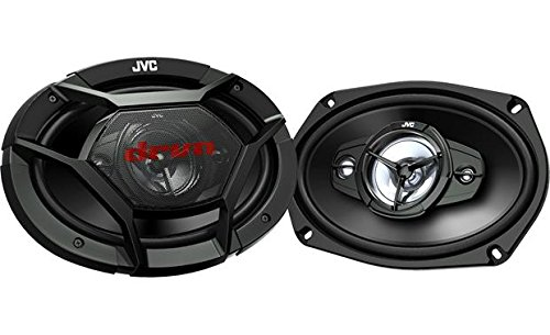 "Jvc - 6"" X 9"" 4-way Car Speakers With Carbon Mica Cones  - B"