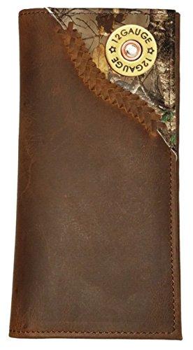 Custom 12 Gauge Shotgun Camo Corner long wallet