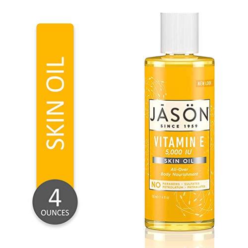 JASON Vitamin E 5,000 IU All Over Body Nourishment Oil, 4 Fl