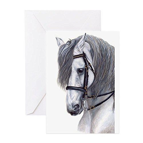 CafePress - Andalusian Greeting Cards - Greeting Card (10-pack), Note Card with Blank Inside, Birthday Card Matte