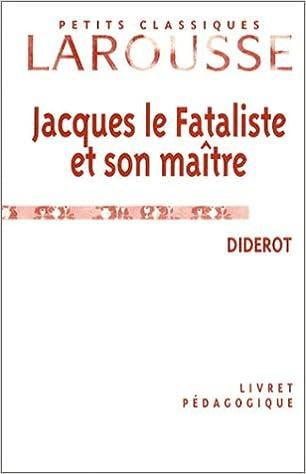 Livres Livret pédagogique : Jacques le Fataliste et son maître pdf, epub