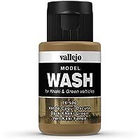 Vallejo Dark Khaki Green Model Wash